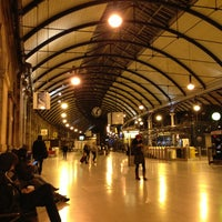 Photo taken at Newcastle Central Railway Station (NCL) by Caio A. on 12/24/2012