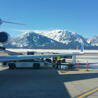 Photo taken at Jackson Hole Airport (JAC) by e*starLA on 2/10/2016