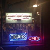 Photo taken at Carolina Cigar Company by Christian T. on 11/10/2016