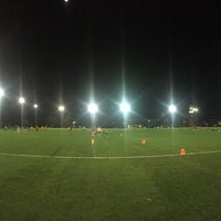 Photo taken at Cook Field by Christian T. on 9/13/2016