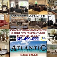 Photo taken at Atlantic Bedding & Furniture-Nashville by Anthony M. on 4/18/2013
