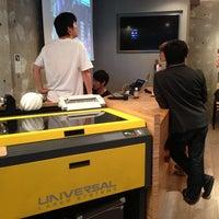 Photo taken at FabCafe Tokyo by aniruudha 4. on 7/5/2013