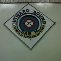 Photo taken at Outward Bound Sabah Hall by Adul A. on 4/19/2013