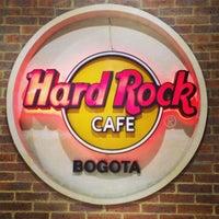 Photo taken at Hard Rock Cafe Bogota by Carlos L. on 5/30/2013