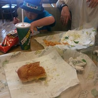 Photo taken at Subway by Jessica W. on 5/17/2013