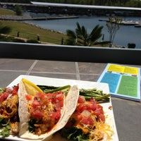 Photo taken at Fish Tales Lakeside Grille by Andrew L. on 4/21/2013