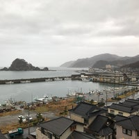 Photo taken at 由良温泉 by 2風@🌬 on 12/9/2016