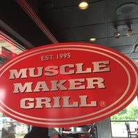 Photo taken at Muscle Maker Grill by Cristian R. on 6/2/2016