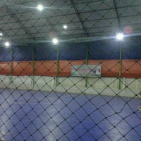 Photo taken at Teratai Mas Futsal by Hendri S. on 6/14/2013