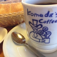 Photo taken at Komeda's Coffee by Toshinobu S. on 10/11/2013