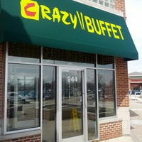 Photo taken at Crazy Buffet by James B. on 4/8/2013