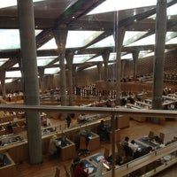 Photo taken at Bibliotheca Alexandrina by Ahmed on 11/25/2012