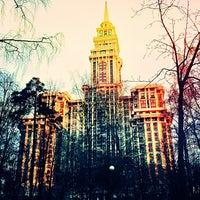Снимок сделан в Чапаевский парк пользователем Fil K. 4/28/2013