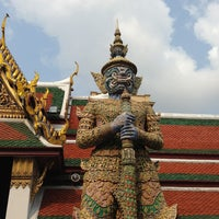 Photo taken at Temple of the Emerald Buddha by Fernando P. on 3/9/2013