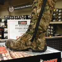 ... Photo taken at Rocky Factory Outlet Store by Sue R. on 9/1/ ...