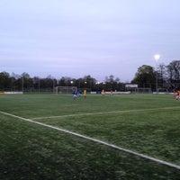 Photo taken at Christelijke voetbalvereniging Achilles by Maurits O. on 4/9/2014