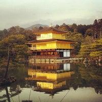 Photo taken at Kinkaku-ji Temple by Zacky M. on 1/24/2013