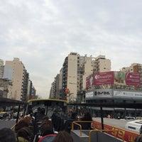 Photo taken at Buenos Aires Bus - Stop 0: Diagonal Norte by Elizabeth R. on 8/1/2014