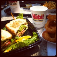 Photo taken at The Habit Burger Grill by Ana A. on 7/19/2013