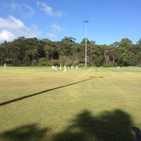 Photo taken at david thomas oval by Leigh C. on 3/22/2013