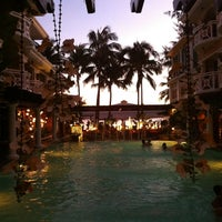 Photo taken at Boracay Mandarin Island Hotel by Kc Q. on 4/30/2013