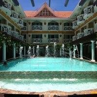 Photo taken at Boracay Mandarin Island Hotel by Kc Q. on 4/29/2013