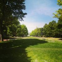 Photo taken at Zuidpark (Koning Albert I-park) by Lorenzo V. on 5/17/2014