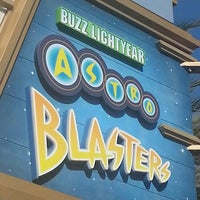 Photo taken at Buzz Lightyear Astro Blasters by Marc N. on 4/3/2013