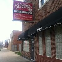 Photo taken at Slyman's Restaurant by Monique W. on 4/15/2013