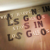 Photo taken at Los Gallos by Angel F. on 2/7/2013