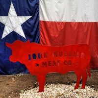 Photo taken at John Mueller Meat Company by Tanya R. on 5/30/2013