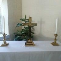 Photo taken at Asbury United Methodist Church by Nicole C. on 10/20/2012