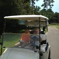 Photo taken at Carolina Shores Golf & Country Club by Melinda B. on 8/27/2013
