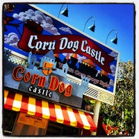 Photo taken at Corn Dog Castle by Doug d. on 6/14/2013