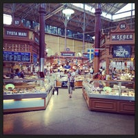 Photo taken at Östermalms Saluhall by Andrey M. on 8/20/2013