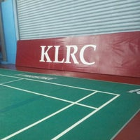 Photo taken at New Vision Badminton Academy by Kepet I. on 1/26/2013