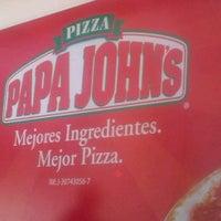 Photo taken at Papa John's by Andrés M. on 1/31/2013