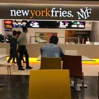Photo taken at New York Fries by Gina G. on 5/17/2017