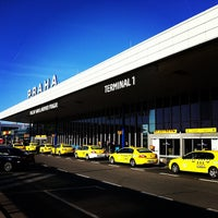 Photo taken at Václav Havel Airport Prague (PRG) by Evgeny S. on 4/15/2013
