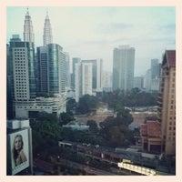 Photo taken at Dorsett Regency Kuala Lumpur by Mongy B. on 1/7/2014