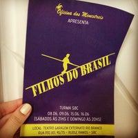 Photo taken at Teatro Garagem by Bárbara D. on 6/8/2013