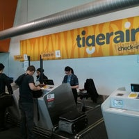 Photo taken at T4 (Domestic - Tiger Airways) Terminal by Ben F. on 8/28/2013