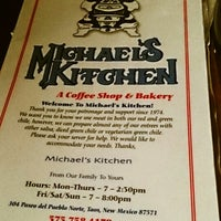 Photo taken at Michael's Kitchen - Coffee House and Bakery by Gabriela D. on 7/21/2013