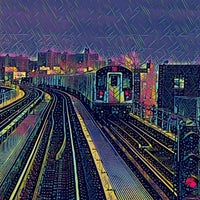 Photo taken at MTA Subway - Mosholu Parkway (4) by Henry Ʊ. on 2/27/2017