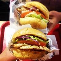 Photo taken at Hero Certified Burgers by Christina Kroner R. on 3/27/2014