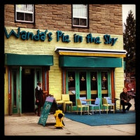 Photo taken at Wanda's Pie in the Sky by Christina Kroner R. on 3/27/2013