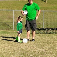 Photo taken at Trussvile Sports Complex by Ann R. on 10/20/2013