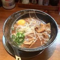 Photo taken at 徳島ラーメン 麺風 by Takeda K. on 10/24/2012