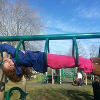Photo taken at East Hampton Playground by Sophia S. on 1/20/2013