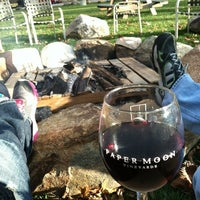 Photo taken at Paper Moon Vineyards by Kelly W. on 11/3/2012